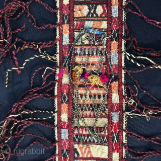 """Any """"Storm band"""" collectors out there? Turkmen yurt storm band. Cm 480x14. Antique, colorful, beautiful and in very good condition. Such long bands were used in the yurts to keep down the  ..."""