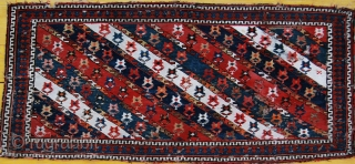 Shahsavan sumakh mafrash long panel. Great piece of tribal art. Great dyes. Great age. Great size. Good condition. More pics, price, infos on rq.