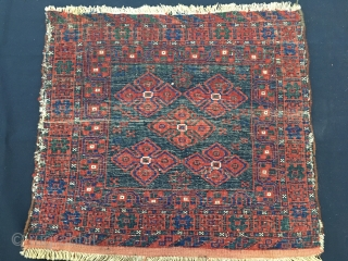 Lori pile bag face. Cm 55x60 ca. Late 19/early 20th c. Lovely output. Great natural saturated colors. Love it.