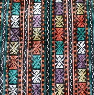 Misterious & interesting silk velvet fragment - first quarter 20th century - cm 65x68 - good condition - possibly Uzbekhistan....anybody knows better? -