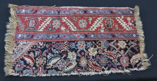 Two Caucasian fragments from the same rug. Great colors. Kuba? Second half 19th century. See more pics on Facebook: https://www.facebook.com/media/set/?set=a.10151975825129258.1073741892.3... or here: https://plus.google.com/photos/102077108999072625754/albums/5936205977386530321?banner=pwa&partnerid=gplp0