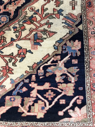 Nice Persian Farhan Malayer in good condition size is 4.7x6.9 (143cmx210cm) any question ask,