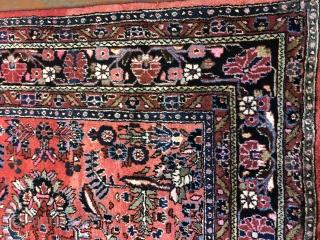 Nice Persian Hamadan sarouk design size is 9x12  in good condition circa 1920  $700.00 + Shipping