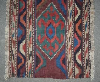 Antique Sahsavan Kilim 2x4