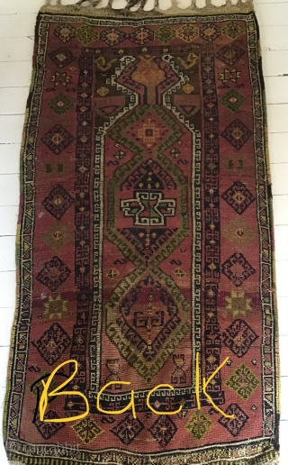 Beautiful sweet Malatya prayer rug for the collector, 