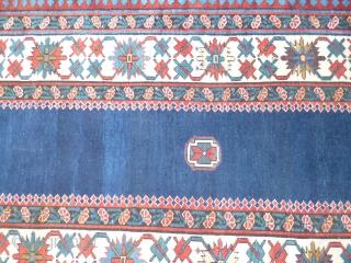 Caucasian Shirwan Kuba XIX th Century cm101x282cm perfect conditions