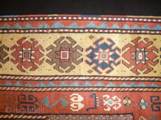 Kazak Karachop cm.175x210 cm. XIX th Century good conditions