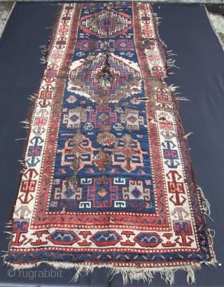 East Anatolian Savak Kurdish Fragment from 19th C.