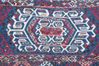 Nice Malatya Sinan Eastern Anatolia Bag face probably 3rd quarter of 19th C. (1850-1875)