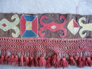 Osbek band 0,28*3,35 with fringes