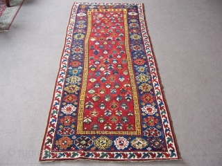Caucasion runner 1,12*2,96 good condition colours,colours