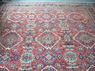 Mahal muskabat rug 3,75*4,75 good condition decorative