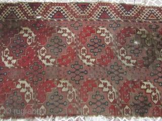 Turkmen rug frakment size=170x90 Freeshipping