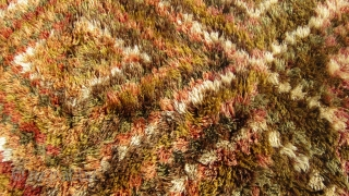 Turkish Anatolian Melendiz yatak rug size=275x116 cm 9.0x3.10 ft