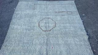 Turkish Konya Karapınar tulü rug Size=183x120 cm