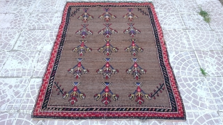 Anatolian Konya Obruk tulü rug size=154x118