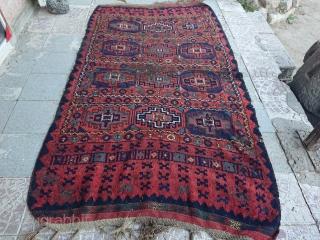 19century East Anatolian Kurdish rug  size=230x142 cm