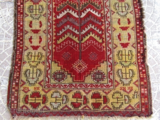 Turkish Anatolian Kavak rug  size=122x90