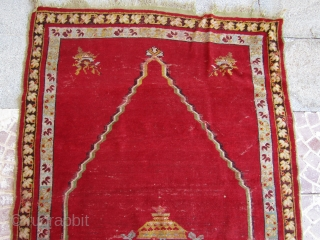 19 thc Turkish Anatolian Mucur Pray rug