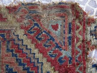 Turkish Anatolian Konya rug frakment size=120x54