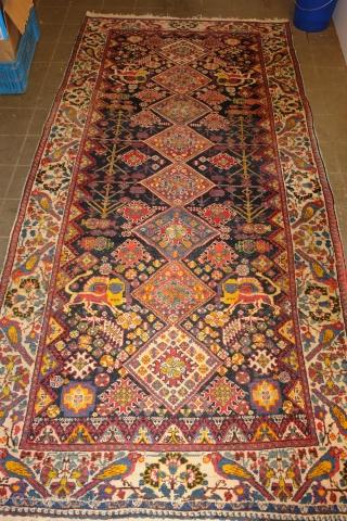 Antik Bahtiyar  size : 270 x 130 cm