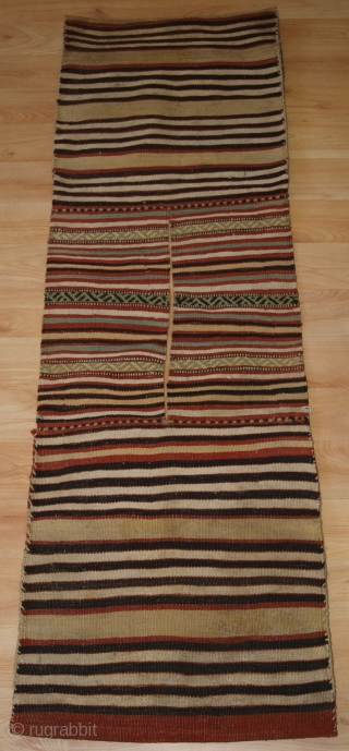 Antique pair of heybe (saddle bags) from the Bergama region of Western Anatolia (Turkey). www.knightsantiques.co.uk Size: 4ft 8in x 1ft 6in (142 x 46cm). 