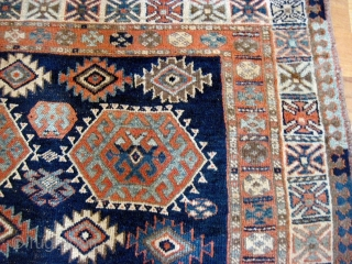 Jaf Kurd rug of good age. 19th C. Floppy, good color. Approx 4.6 x 7.
