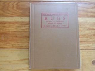 4 Oriental Rug Books:  Oriental Rugs Smithsonian Cooper-Hewitt, 1979, hard cover, dust jacket, good.  Prayer Rugs Textile Museum, 1974, soft cover, good.  Oriental Rugs, Mumford, 1902, hard cover, fair.  Oriental Rugs, Holt, 1927, hard cover, good.   Plus  ...