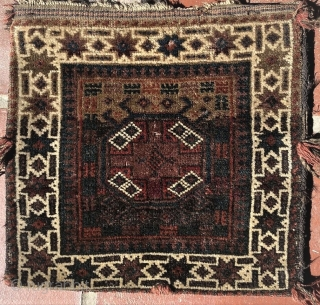 Antique complete Baluch chanteh (two faced vanity bag) in good condition.  All dyes appear natural. Please ask for additional photos if needed.