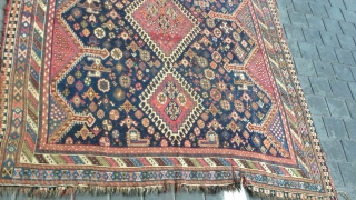 Shiraz rug antiqe mint condishen size:225x172-cm ask