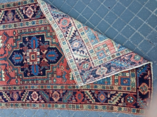 Antiqe Persian heriz mint condishen size :172x88-cm good price