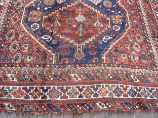 persian rug shiraz mint condition size:283x210-cm / 111.4x82.6-inches 
