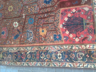 Persian afshar size:194x157-cm please ask