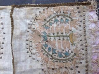Turki antiqe embroidery en metal size:50x44-cm good price