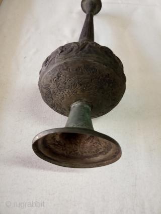 Golab pash persian antiqe silver size:24-cm