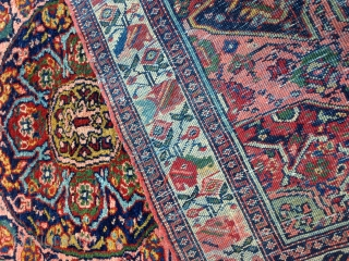 Persian rug size:144x106-cm ask