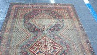 Persian Shiraz rug size:275x150-cm please ask