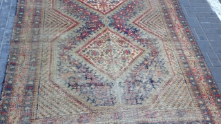 Persian Shiraz rug size:275x150-cm please ask