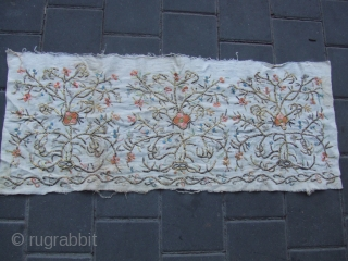 Turkish textile size:82x33-cm / 32.2x12.9-inches