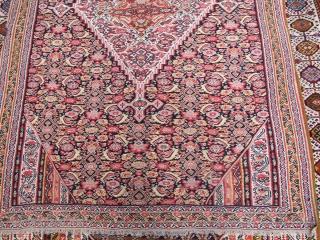 Antique Seneh kilim  Fine quality  196x133cm  P.O.R