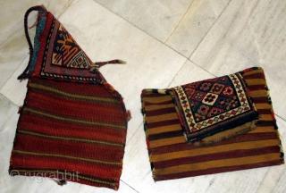 two top quality antique Shahsavn salt bag   P.O.R