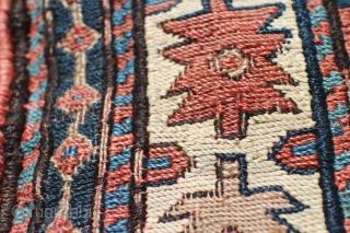 Shahsavan bag 55 x 55 cm, ,Fine weave, natural colours, condition is good