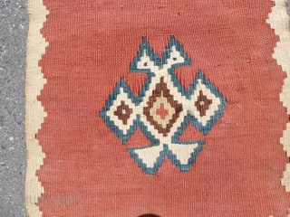 Very finely woven Qashqai,42x25 cm, in excellent condition, natural colors