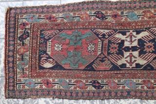Soumak 98 x 39 cm, fine weave, natural colors