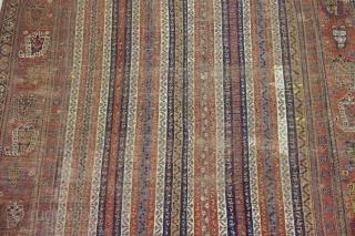 Antique Qashqai size: 310 x 158 cm (10´1´´ ft x 5´2´´ft),