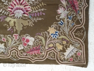 Rasht Textile. 2.1 x 1.8 Ft or 66 x 57 Cm