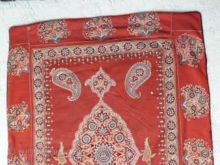Antique Rasht Textile. 3.2 x 2.5 Ft.