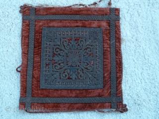 Antique Italian textile. 50 x 54 Cm