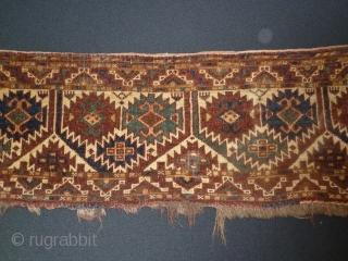 Ersari Turkman Torba. 130 x 35 Cm