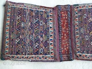 KUrdish Flatwoven Double Bag. 53 x 108 Cm